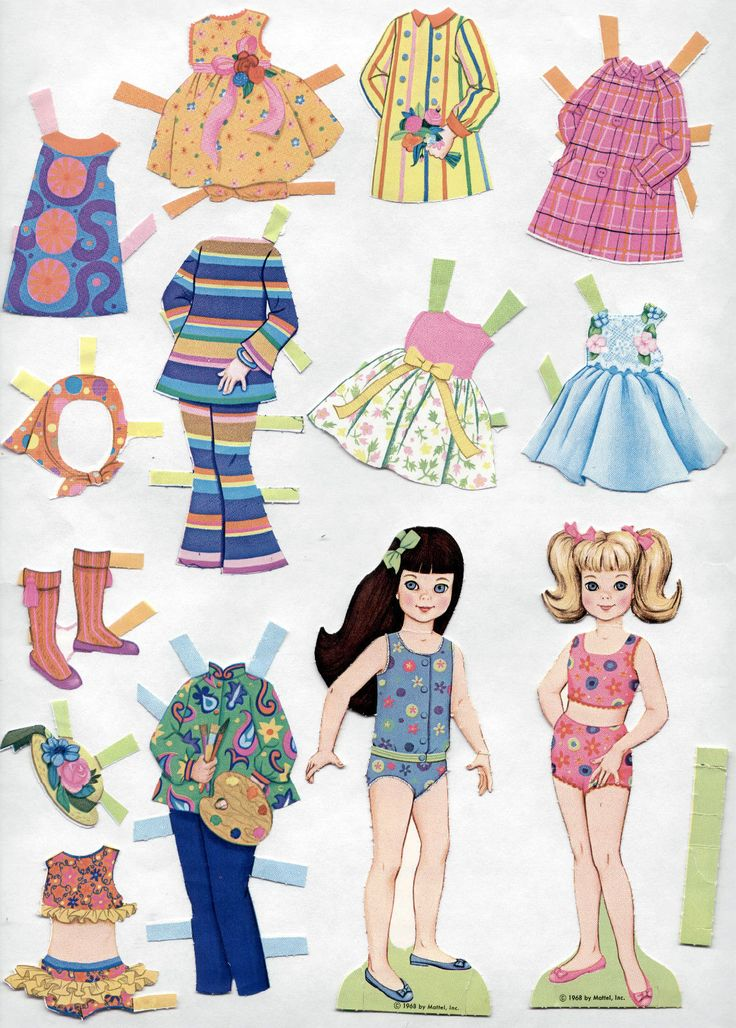 545 Best Paper Doll Barbie Images On Pinterest Barbie
