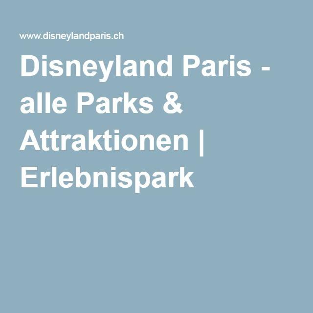 Disneyland Paris - alle Parks & Attraktionen | Erlebnispark