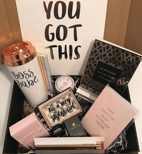 Covet Crate - Girl Boss Edition | Promotion Gift | Surprise Box | Beauty, Stationery and Wellness - One-time Box Purchase | New Job Gift
