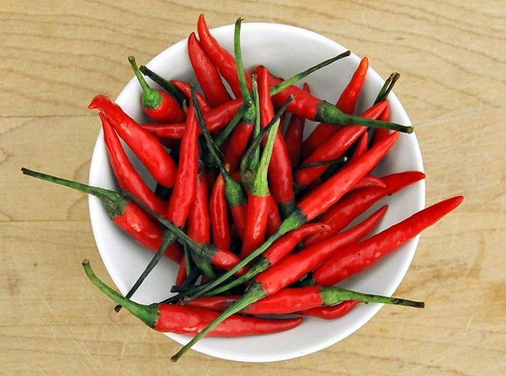 What are Bird's Eye Chilies?