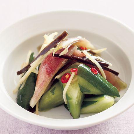 きゅうりとみょうがの浅漬け | Mako(多賀正子)さんの小鉢の料理レシピ | プロの簡単料理レシピはレタスクラブニュース