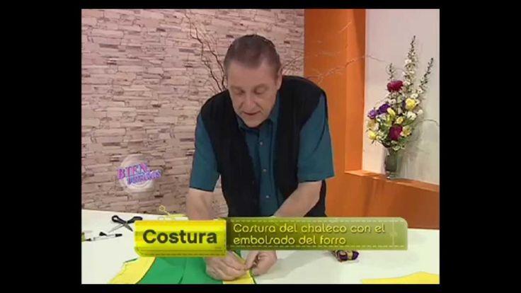 Hermenegildo Zampar  - Bienvenidas TV - Explica como hacer una Costura d...