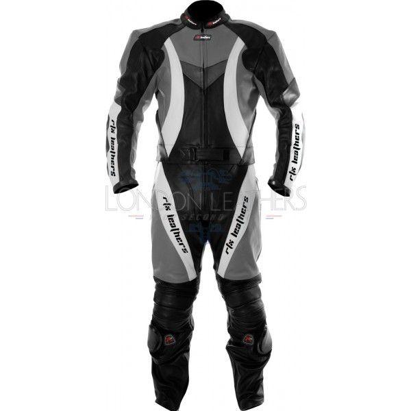 images of silver 2 piece sport bike race leathers | RTX Violator Sport Grey Motorbike Leathers