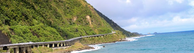 The Patapat Viaduct is a viaduct at the municipality of Pagudpud, Ilocos Norte, a coastal resort town on the northernmost tip of Luzon Island in the Philippines. The bridge is elevated 31 meters over sea level. It is a concrete coastal bridge 1.3 km long and connects the Maharlika Highway from Laoag, Ilocos Norte to the Cagayan Valley Region. It is the 4th longest bridge in the Philippines.