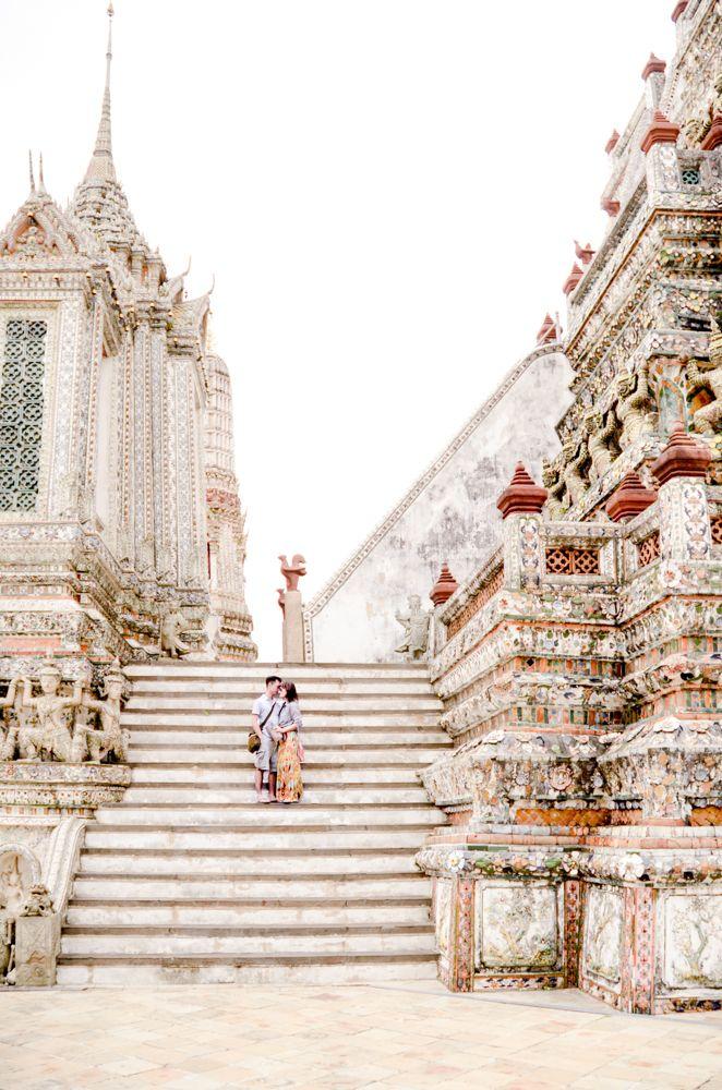 Temples in Thailand, Wat Arun, Honeymoon Thailand, Travel Thailand, Phuket Resort hotel, Phuket beach, Koh Samui Honeymoon #travel #thailand #bangkok #asia