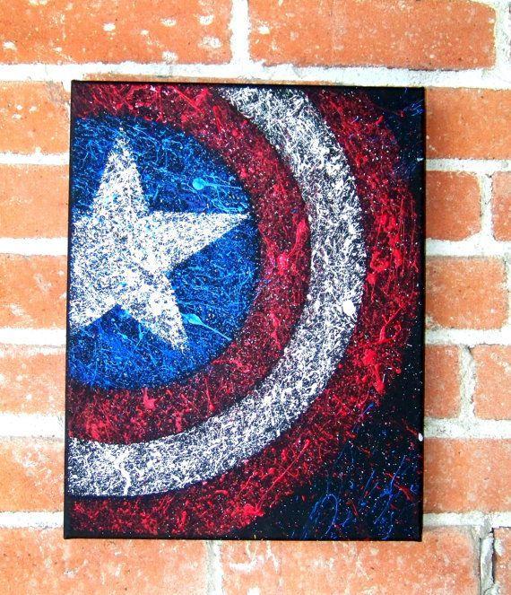 Iron Man of Marvel Comics Avengers Acrylic on by RockinARTitude