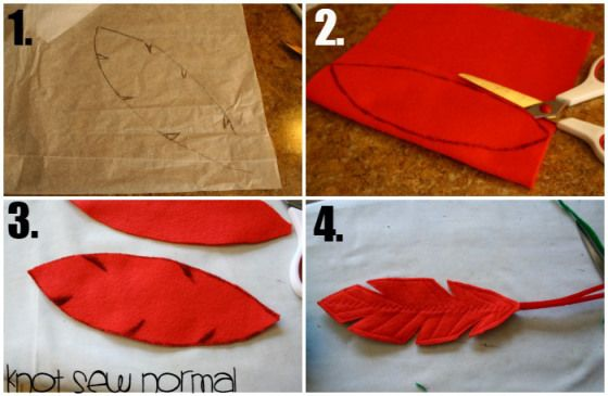 How to make a Peter Pan Hat Tutorial by Knot Sew Normal