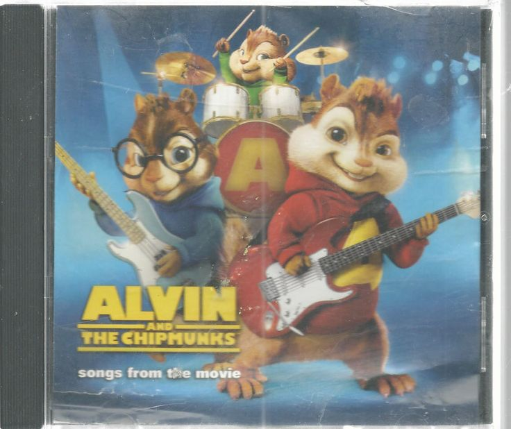 Alvin And Chipmunks Movie Soundtrack Childrens CD 2007 #Soundtrack