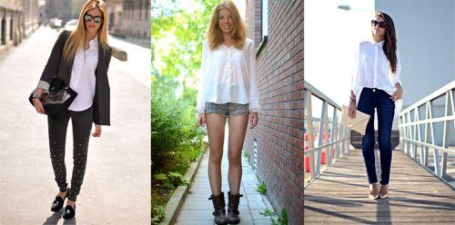 Aprende a sacar el máximo partido a tu camisa blanca, una prenda básica de fondo de armario.