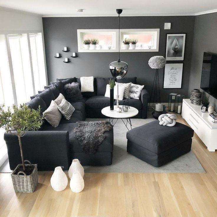 20 Newest Modern Living Room Design Ideas For Your Inspiration Living Room Decor Apartment Dark Furniture Living Room Living Room Designs Small Spaces