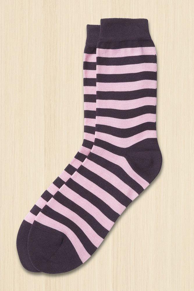 Marimekko Raitsu Unisex Socks Plum/Pink