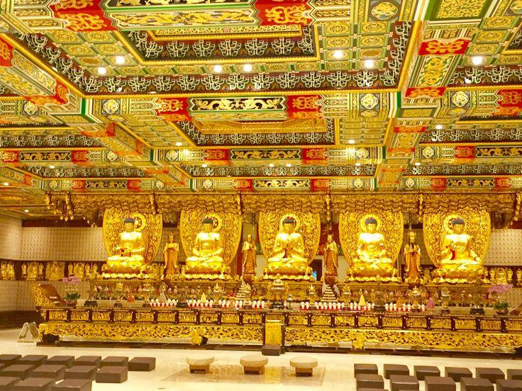 Po Lin monastery, Ten thousand Budha temple, Lantau island, Hong Kong