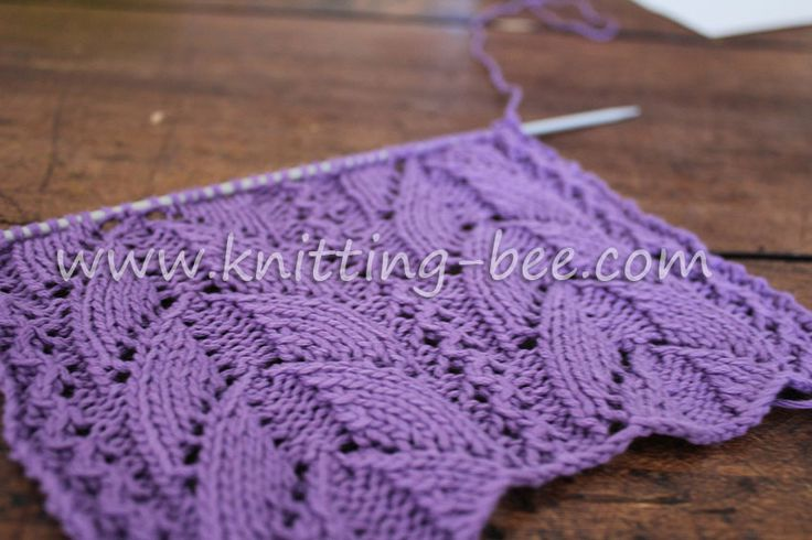 Lace Knitting Pattern Library : Lacy-Arch-Free-Knitting-Stitch-lace knitting ~ stitch ...
