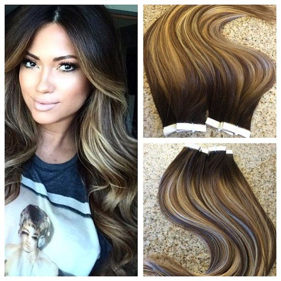 Best 25 weft hair extensions ideas on pinterest black hair 5 star ombre balayage cuticle remy human hair keratin fusion tape in seamless weft hair extensions pmusecretfo Gallery