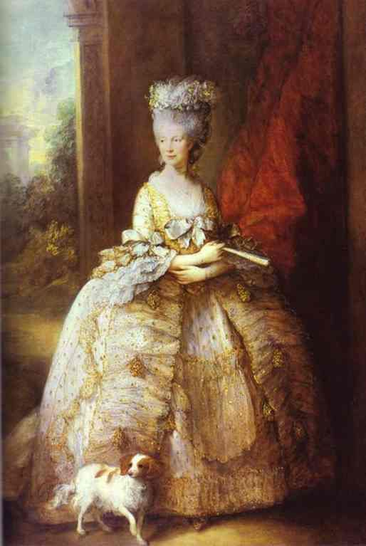 Thomas Gainsborough, Queen Charlotte