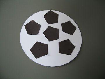 Voetbal plakken makkelijk