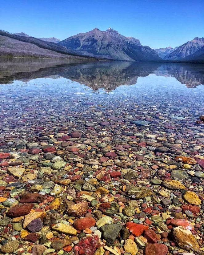 Озеро макдональд штат монтана сша фото