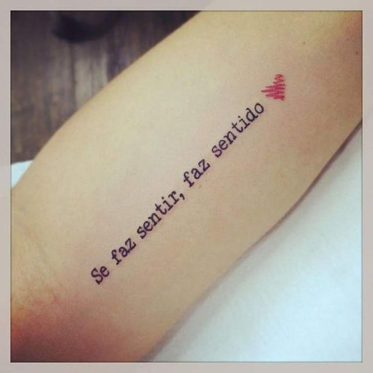 100 ideias de tatuagens delicadas | Frases para tatuagem feminina, Frases para tatuagem, Frases tatuagem