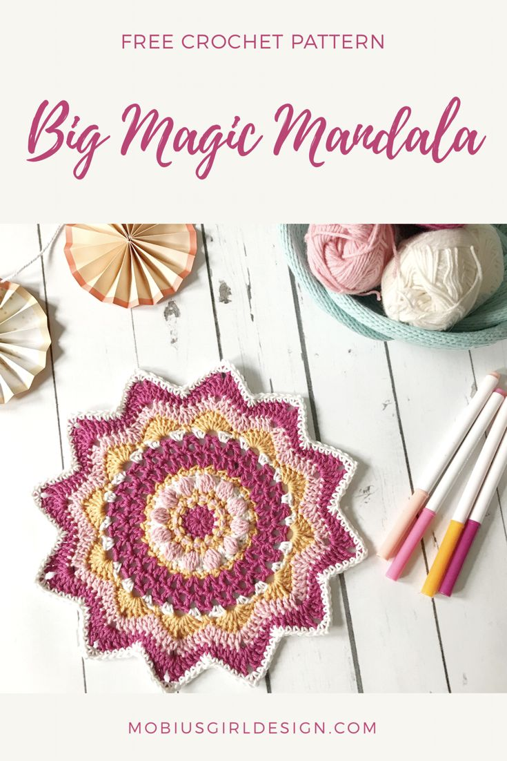 628 besten Crochet Mandalas Bilder auf Pinterest | Mandalas ...