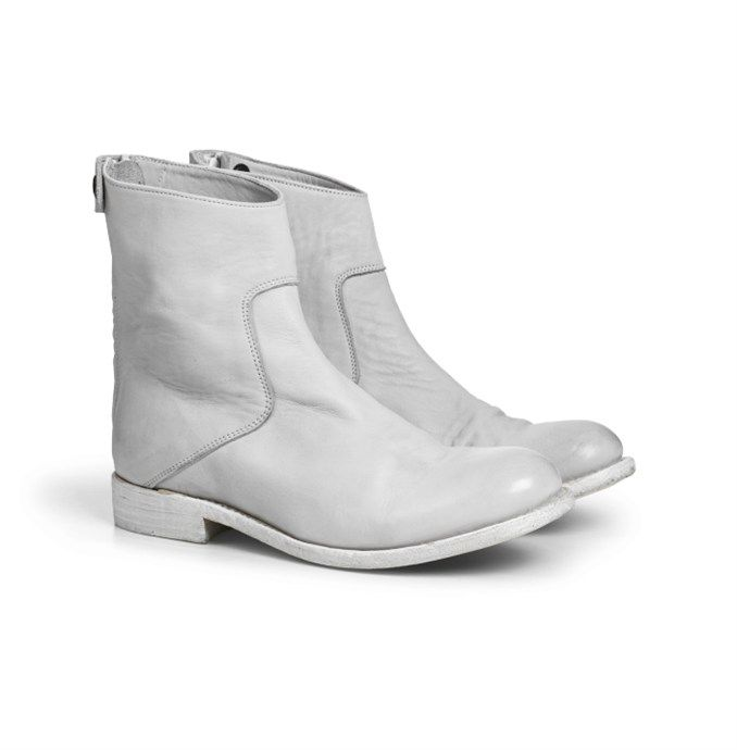 Audley Boot White by The Last Conspiracy