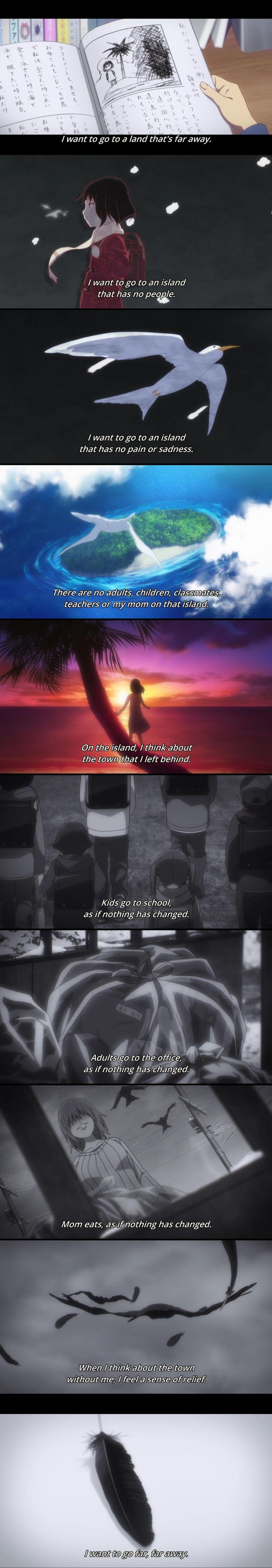 boku dake ga inai machi, erased, kayo hinazuki, text - her story is so sad :'(