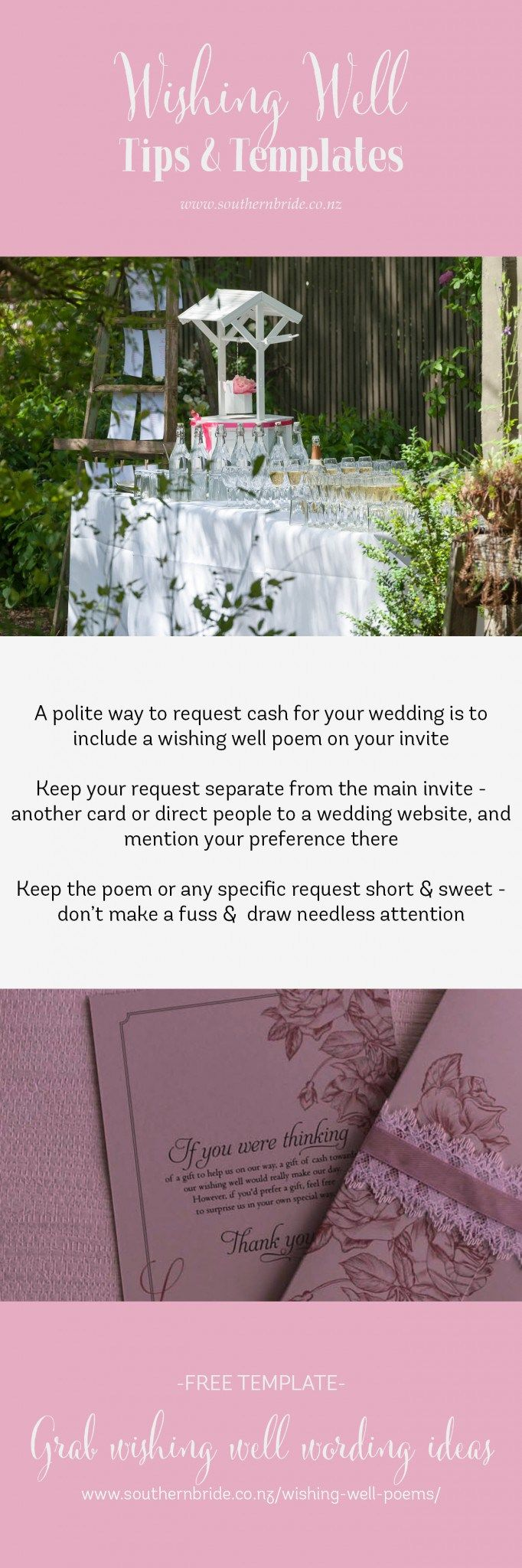 no gift wording for wedding invitations%0A How to word that you have a Wishing Well for your wedding gift http