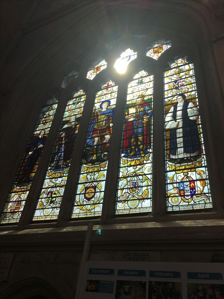 Bath Abbey has 52 windows, occupying about 80% of the wall space. #bath #bathabbey