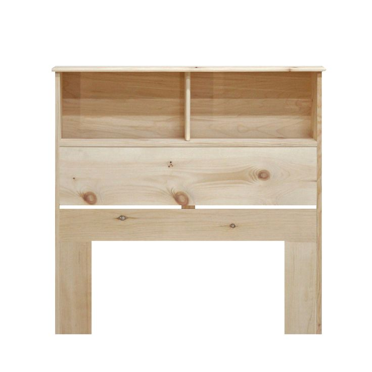 "Gothic Cabinet Craft - Twin Bookcase Headboard (36"" High) in Pine, $169.00 (http://www.gothiccabinetcraft.com/twin-bookcase-headboard-36-high-in-pine/)"