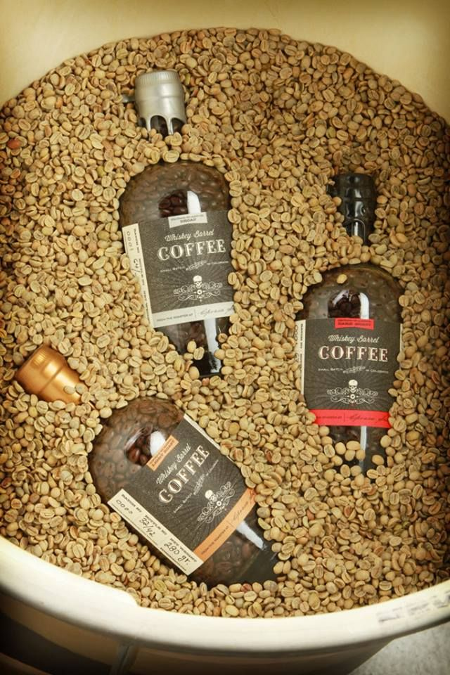 how to make whiskey barrel coffee