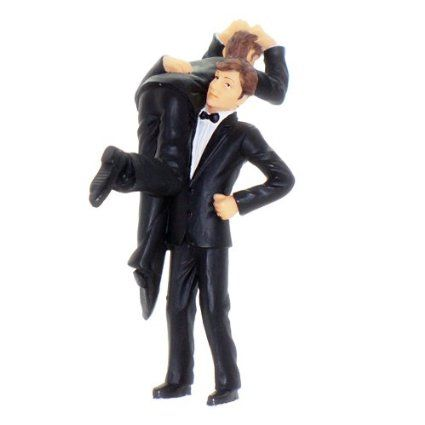 Gay circle of love figurine