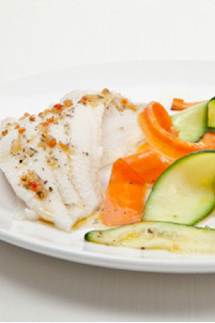 #Epicure Silicone Steamer 5 Minute Italian Fish