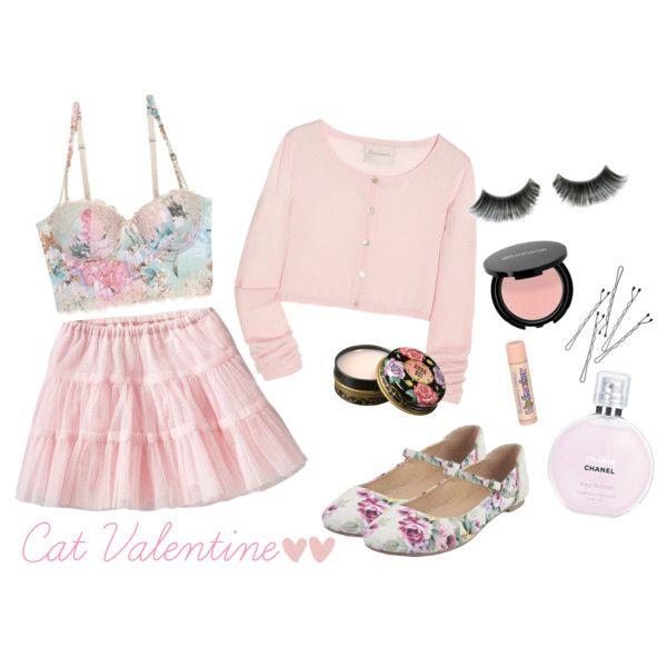"""Cat Valentine inspired~nymphet"" by loelita on Polyvore"