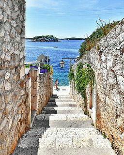 Hvar.Take the ferry.