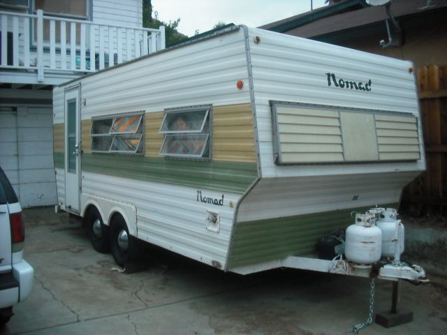 great discussion about a 1972 nomad trailer tiny trailers rv 39 s and glamping pinterest. Black Bedroom Furniture Sets. Home Design Ideas