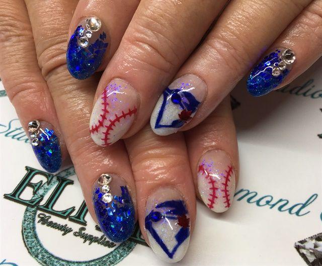 sports nail art