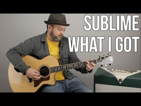 """How to Play """"What I Got"""" by Sublime on Guitar - YouTube"""