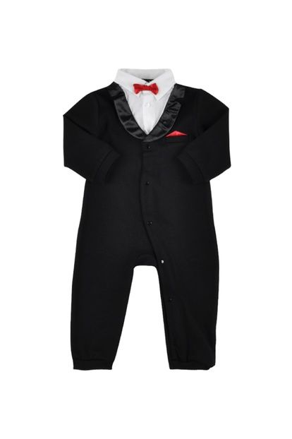Siyah Erkek Bebek Tulum