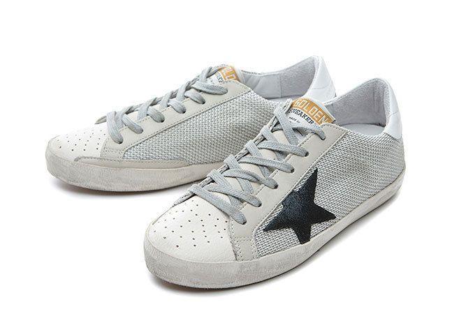 Top Superstar Sneakers Gray Code