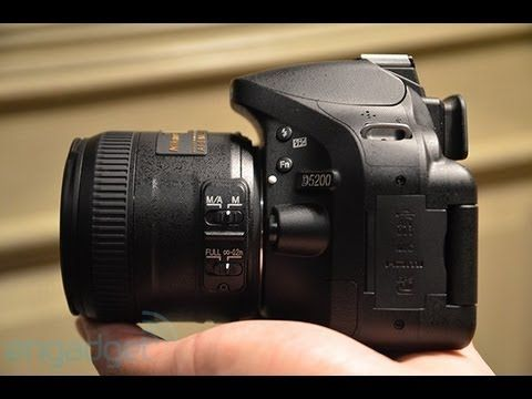 NEW Nikon D5200 hands-on