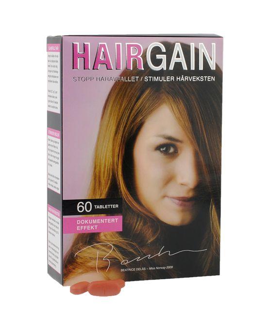 Hairgain - ny og forbedret! fra Almea. Om denne nettbutikken: http://nettbutikknytt.no/almea-no/