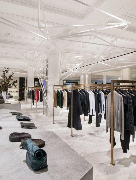 Retail Units  Selfridges Mens Designer Space by Alex Cochrane Architects