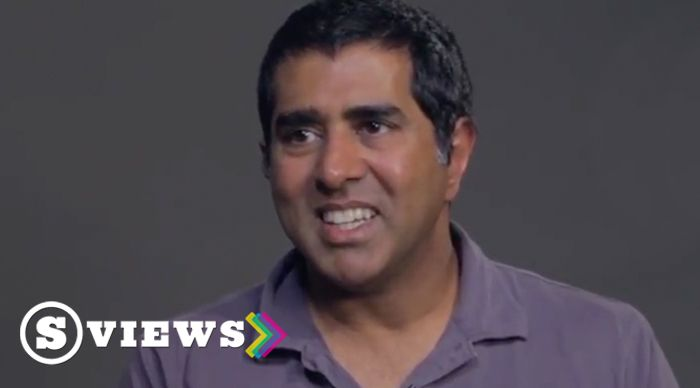Jay Chandrasekhar (director, writer, actor, and author of Mustache Shenanigans) describes why all filmmakers should learn how to edit their own footage.