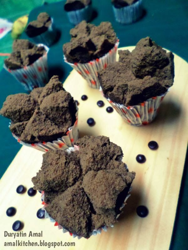 Amal's Kitchen : Simple & Easy Recipes: Brownies Kukus Mekar Ny.Liem dan Kutukan Bolu Kukus ^_^