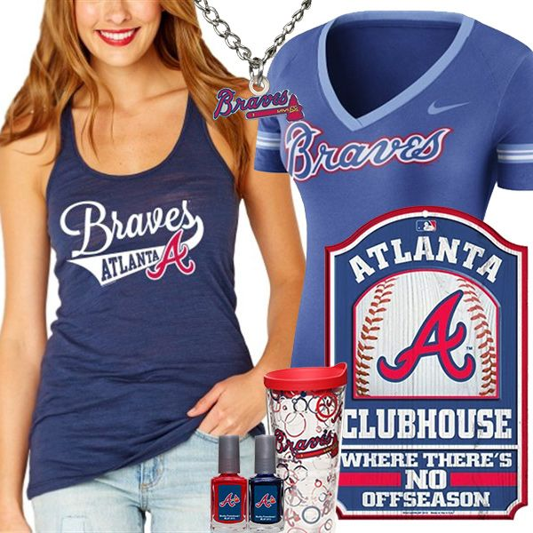 17 Best Images About Atlanta Braves Fashion Style Fan