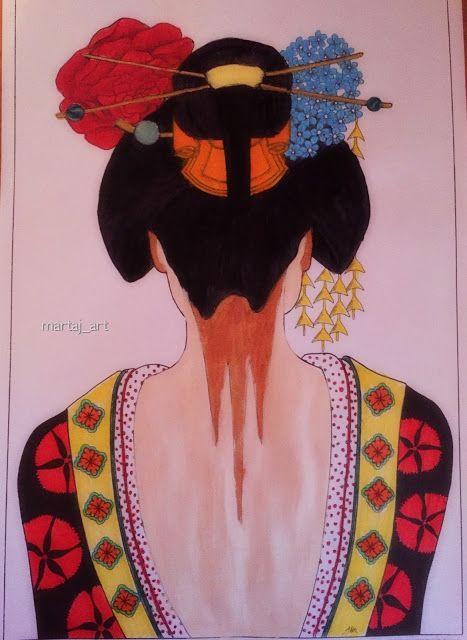 martaj_art: Postery do kolorowania Kobiety