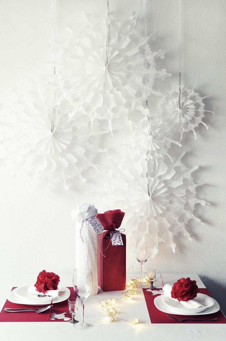 Paper snowflakes - www.karcsipapir.hu