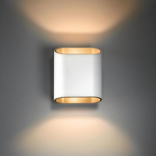 Modular Lighting Trapz 1x R7s Wit structuur/champagne