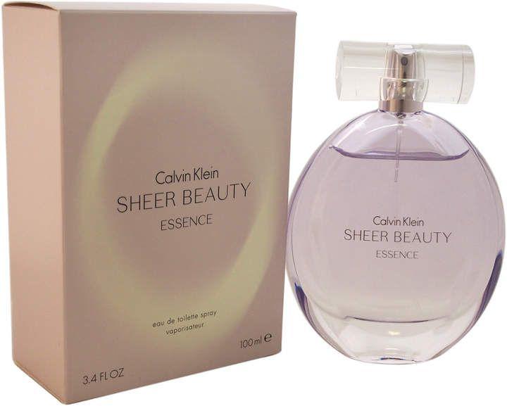 Calvin Klein Sheer Beauty Essence Women S 3 4oz Eau De Toilette Spray With Images Beauty Essence Calvin Klein Sheer Beauty Perfume