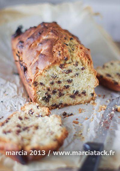 cake aux pepites de chocolat
