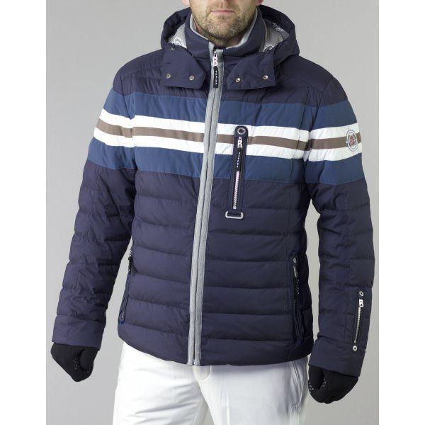 Bogner Niilo D Mens Ski Jacket in Navy